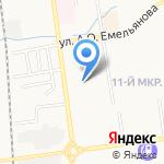 Водевиль на карте Южно-Сахалинска