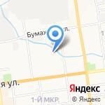 МРТС Восток на карте Южно-Сахалинска
