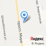Пенамаркет на карте Южно-Сахалинска