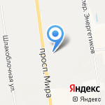 Магазин мебельной фурнитуры на карте Южно-Сахалинска