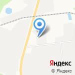 AutoАмерика на карте Южно-Сахалинска