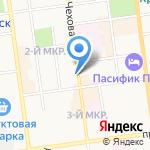 Ольга на карте Южно-Сахалинска