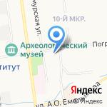 Солид банк на карте Южно-Сахалинска