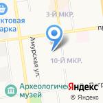 ГеоСах Мониторинг на карте Южно-Сахалинска
