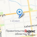 Бюро-Недвижимости на карте Южно-Сахалинска