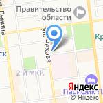 Сэ корё синмун на карте Южно-Сахалинска