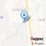 ТИС на карте Южно-Сахалинска