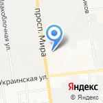Эталон на карте Южно-Сахалинска