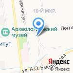 ККМ-сервис на карте Южно-Сахалинска