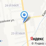 ВОСХОД-93 на карте Южно-Сахалинска