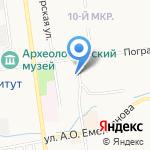 Сахалин-Строй-Механизация на карте Южно-Сахалинска