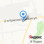 Утёс на карте Южно-Сахалинска
