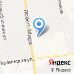 Дом для приезжих на карте Южно-Сахалинска