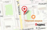 Схема проезда до компании Сахпромоушн в Южно-Сахалинске