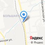 ДХЛ Интернешнл на карте Южно-Сахалинска