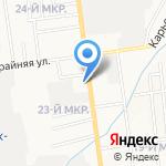 Пожарная часть №2 на карте Южно-Сахалинска