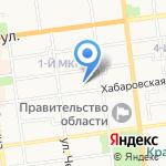 Биолит на карте Южно-Сахалинска