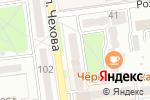 Схема проезда до компании IT-Solution в Южно-Сахалинске