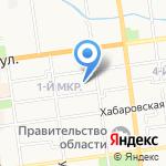 Маммут Сахалин на карте Южно-Сахалинска