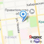 Бюрократ на карте Южно-Сахалинска