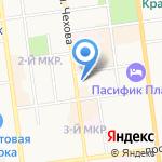 Медикор на карте Южно-Сахалинска
