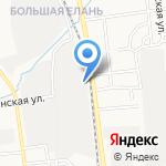 Сингл на карте Южно-Сахалинска