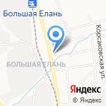 Хантер парк на карте Южно-Сахалинска