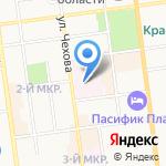 441 Военный госпиталь на карте Южно-Сахалинска