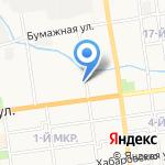 ГеоМар на карте Южно-Сахалинска