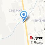 Городская поликлиника №7 на карте Южно-Сахалинска