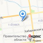 Студия дизайна Елены Свиридовой на карте Южно-Сахалинска