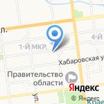 ИРБИС на карте Южно-Сахалинска