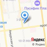 Gym на карте Южно-Сахалинска
