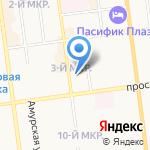 МосСахТранс на карте Южно-Сахалинска