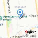 Сахалинский производственно-коммерческий центр на карте Южно-Сахалинска