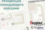 Схема проезда до компании Trebol supply limited в Южно-Сахалинске