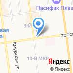 7 дней на карте Южно-Сахалинска