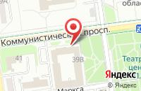 Схема проезда до компании Триумф в Южно-Сахалинске