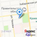 Управление Федеральной налоговой службы России по Сахалинской области на карте Южно-Сахалинска