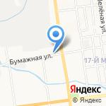Северный источник на карте Южно-Сахалинска