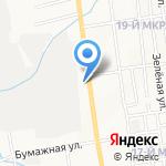 Современная гуманитарная академия на карте Южно-Сахалинска