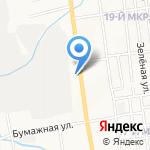 Управление по вопросам миграции УМВД России по Сахалинской области на карте Южно-Сахалинска