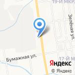 Магазин DVD-дисков на карте Южно-Сахалинска