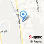 Дальнобойщик на карте Южно-Сахалинска