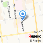 Yamaha Music Land на карте Южно-Сахалинска
