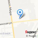 Мерседес-Авто на карте Южно-Сахалинска