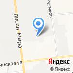 Тягач+ на карте Южно-Сахалинска