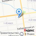 Сбербанк на карте Южно-Сахалинска