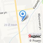 Автотранспортное хозяйство УВД по Сахалинской области на карте Южно-Сахалинска