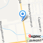 Почтовое отделение №1 на карте Южно-Сахалинска